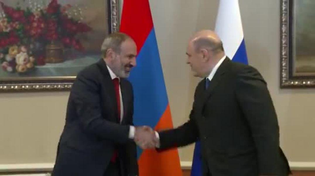 Հանդիպում եմ Ռուսաստանի Դաշնության նորանշանակ վարչապետ Միխայիլ Միշուստինի հետ։