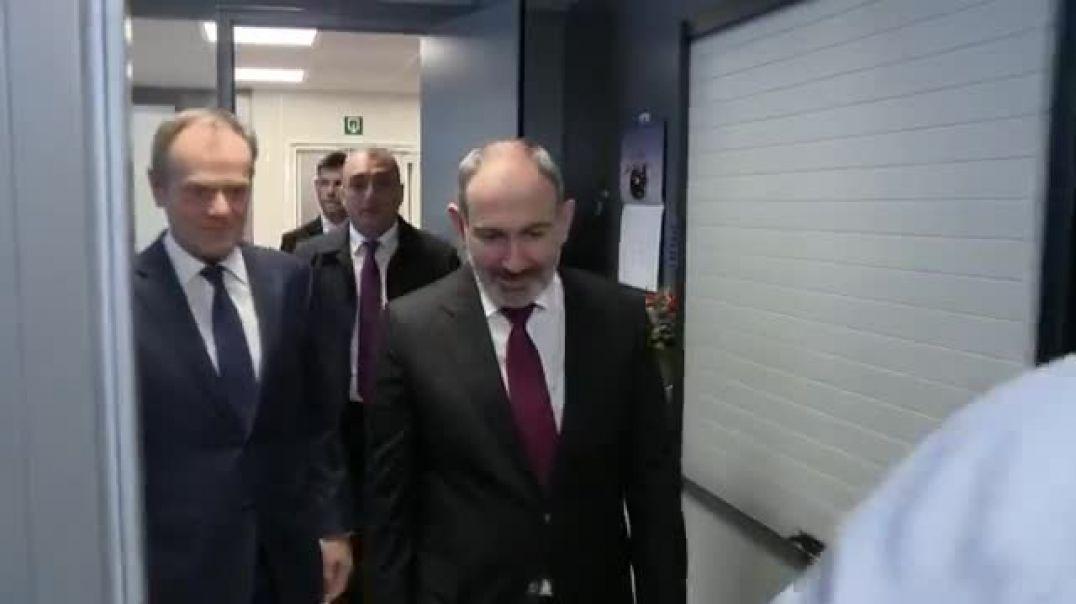 Հանդիպում՝ Եվրոպական ժողովրդական կուսակցության (ԵԺԿ) նախագահ Դոնալդ Տուսկի հետ։