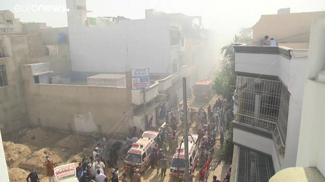 ՏԵՍԱՆՅՈՒԹ. Ավիավթար Պակիստանում. զոհվել է 97 մարդ. կան փրկվածներ