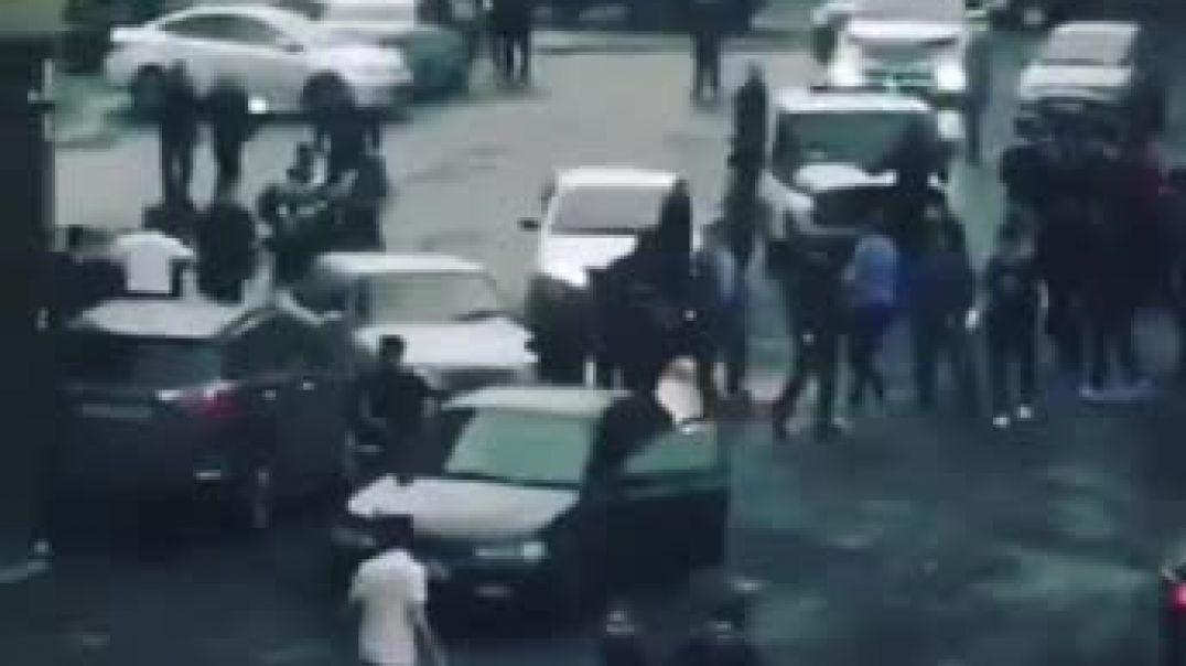 ՏԵՍԱՆՅՈՒԹ. Զանգվածային ծեծկռտուք ադրբեջանցիների եւ դաղստանցիների միջեւ