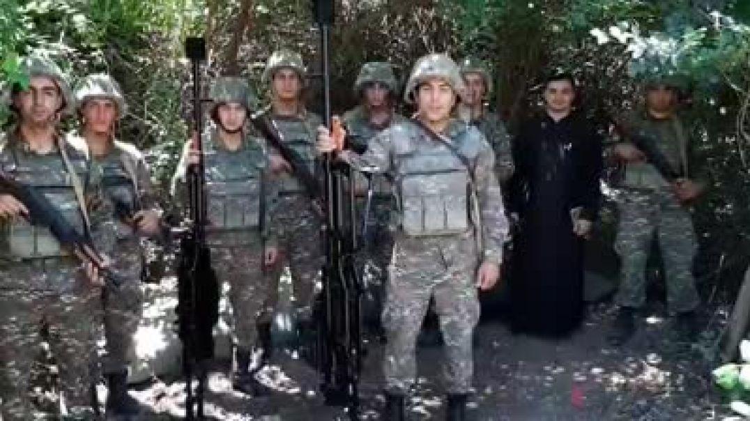 «Անհոգ եղեք, մենք ամուր ենք մեր լեռների պես». Հայ զինվորների տեսաուղերձը