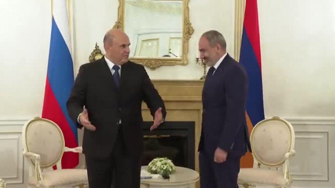 Նիկոլ Փաշինյանի հանդիպումը ՌԴ վարչապետ Միխայիլ Միշուստինի հետ