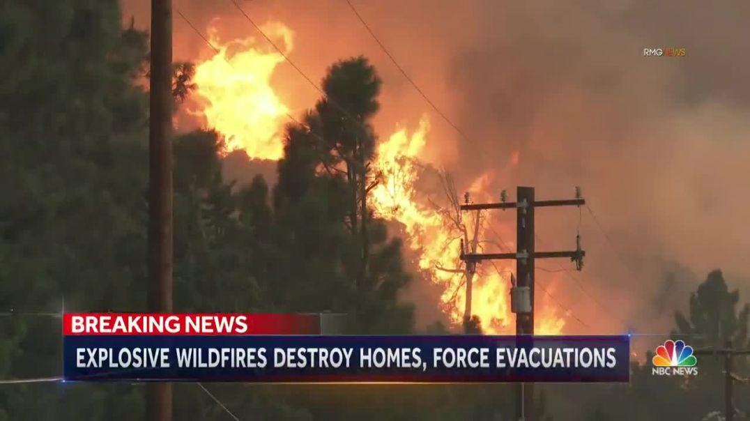 Կալիֆոռնիա նահանգի Ազգային պարկի տարածքում անտառային հրդեհի մակերեսը 2 օրում եռապատկվել է