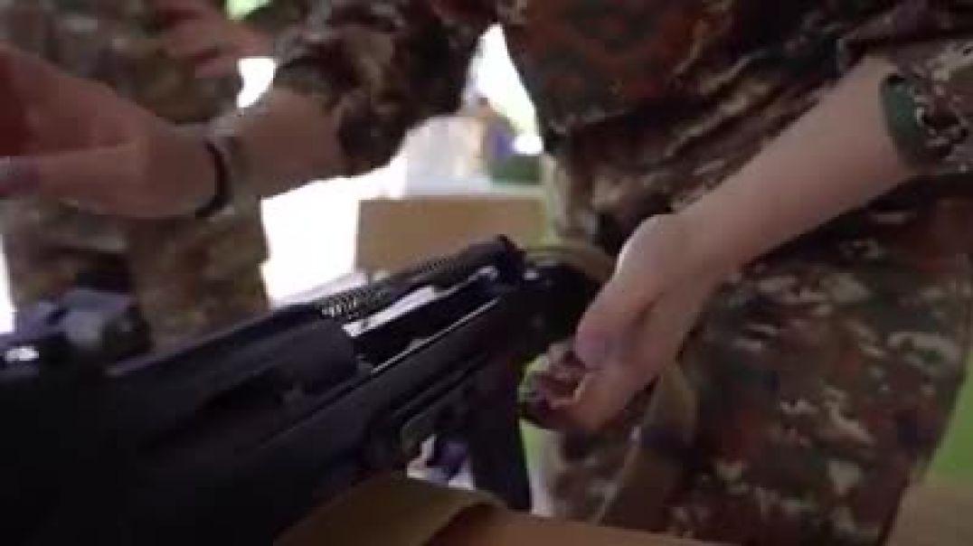 Աննա Հակոբյանը տեսանյութ է հրապարակել իր նախաձեռնությամբ կանանց կրակային պատրաստության դասընթացներից