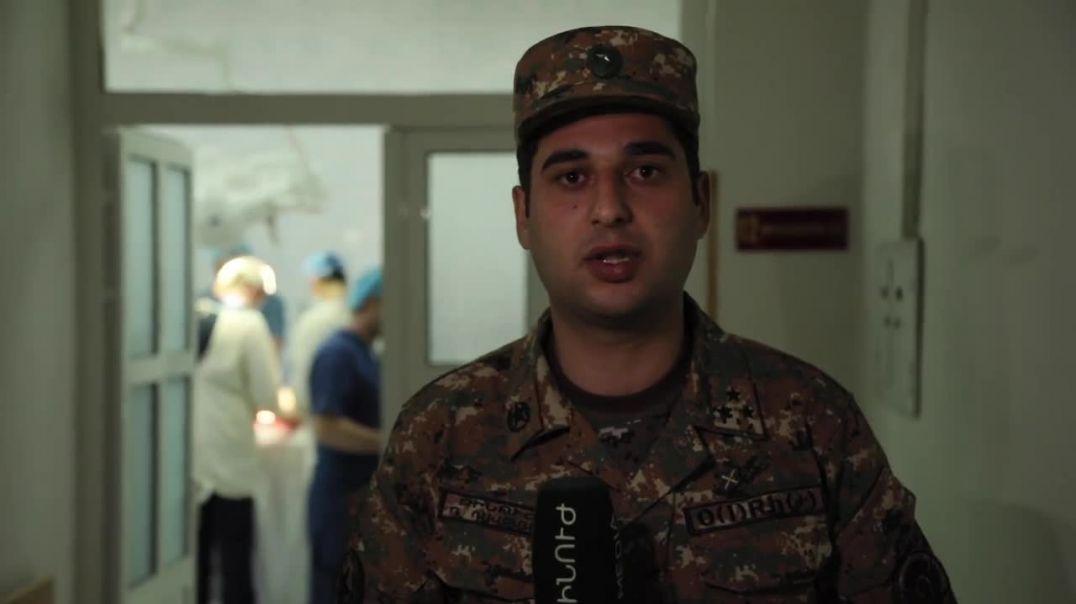 Պատերազմի դաշտում կռված զինվորները և նրանց բուժող բժիշկները