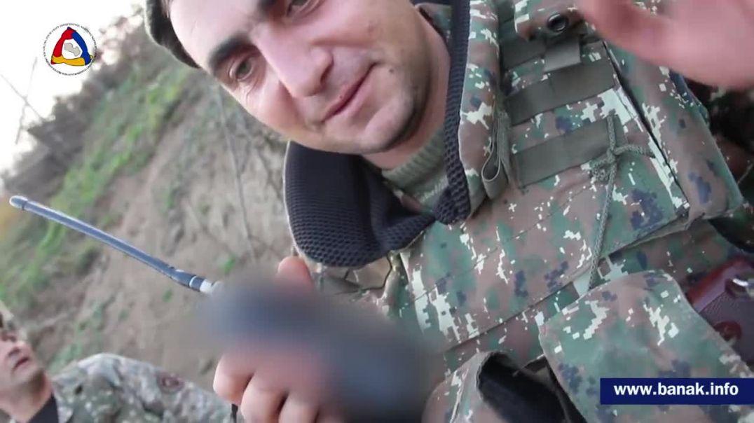 Ռադիոկապի միջոցով զինվորի քաջալերող կատարումն իր ծառայակից ընկերներին