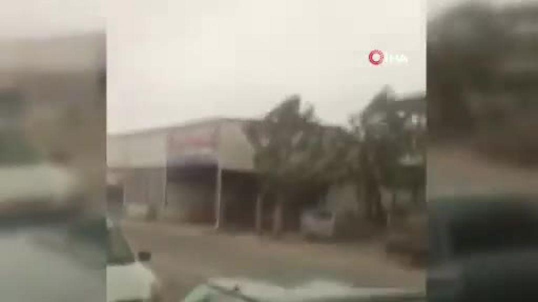 Փոթորիկ Թուրքիայի Անթալիա քաղաքում