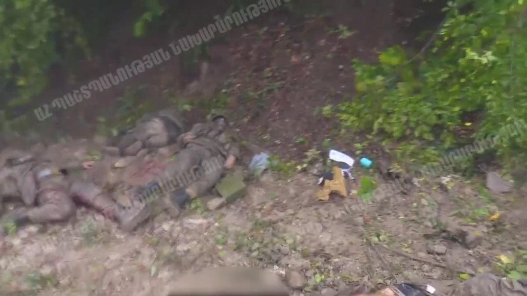 Ոչնչացված ադրբեջանցի զինծառայողները