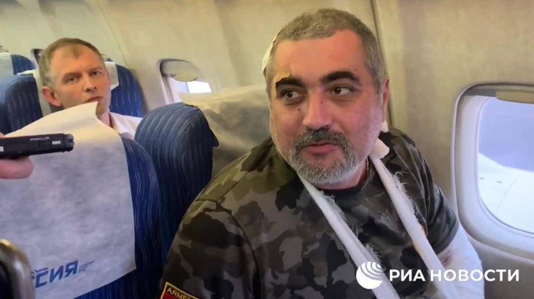 Շուշիում վիրավորում ստացած ռուս լրագրողները մեկնում են Մոսկվա