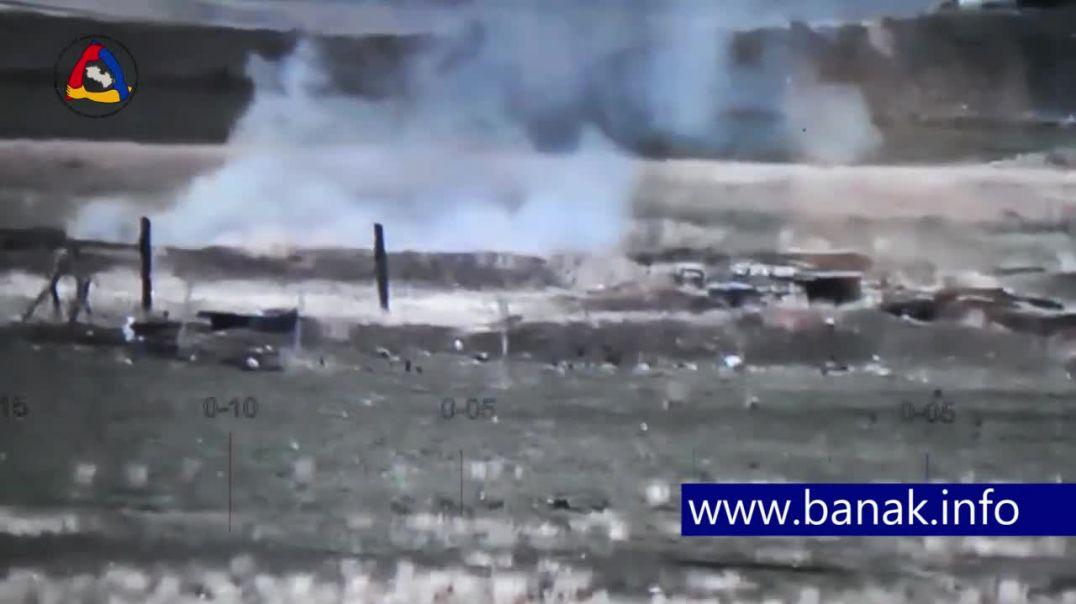 Ադրբեջանցիները փախչում են իրենց դիրքերից հայկական կողմի պատասխան կրակի արդյունքում և ոչնչացվում։