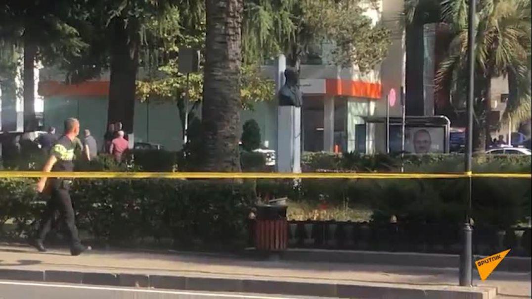 Վրաստանի Զուգդիդի քաղաքի բանկում զինված տղամարդը պատանդներ է վերցրել