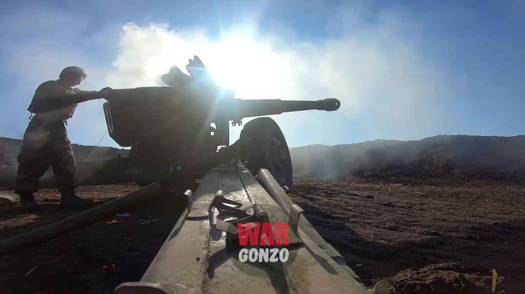 Շուշիի մերձակայքում Д-20 հրանոթները հարվածներեն հասցնում Ադրբեջանի զինված ուժերին. Wargonzo