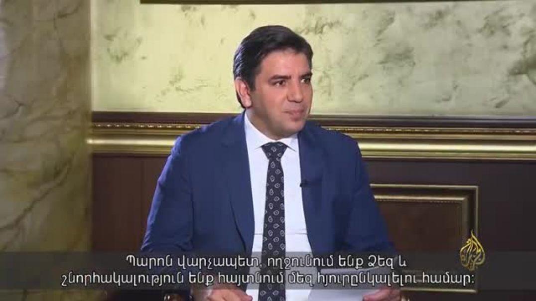 Պատերազմի շարունակության ամեն օրը ֆրուստրացիայի է բերելու Ադրբեջանի հանրությանը. վարչապետը՝ Al Jazee