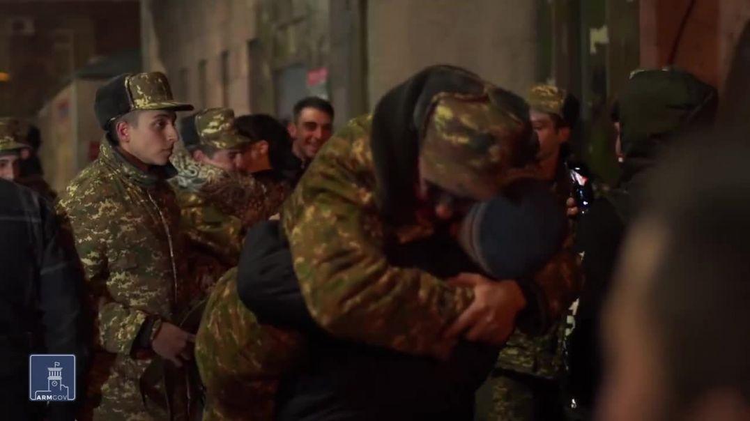 Զինվորները 7-օրյա արձակուրդ են գալիս