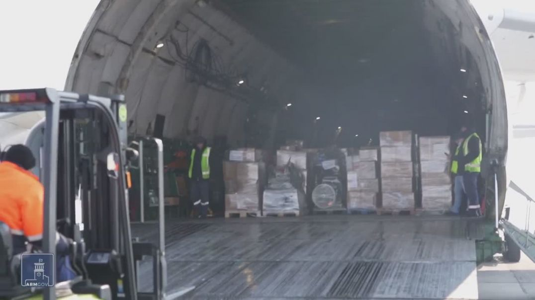 Գերմանիայի ՊՆ հատուկ չվերթով Երևան է տեղափոխվել մոտ 30 տոննա հումանիտար օգնություն