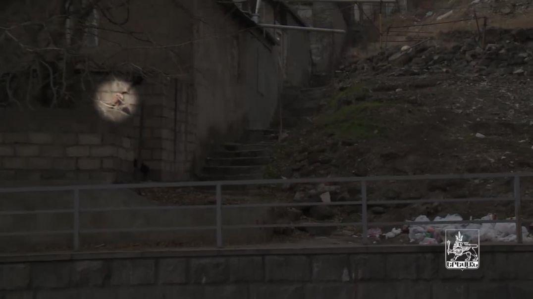 Երևանի Լեո փողոցում բնակիչներն աղբը թափում են հենց իրենց տների կողքին (տեսանյութ)