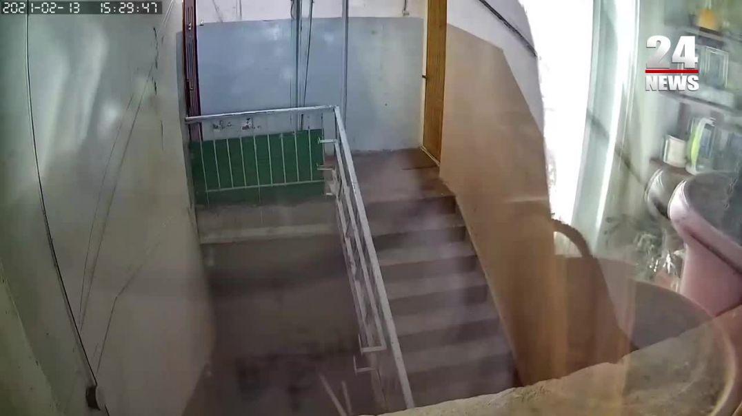 Բնակարանի տեսախցիկը ֆիքսել է երկրաշարժը Երևանում