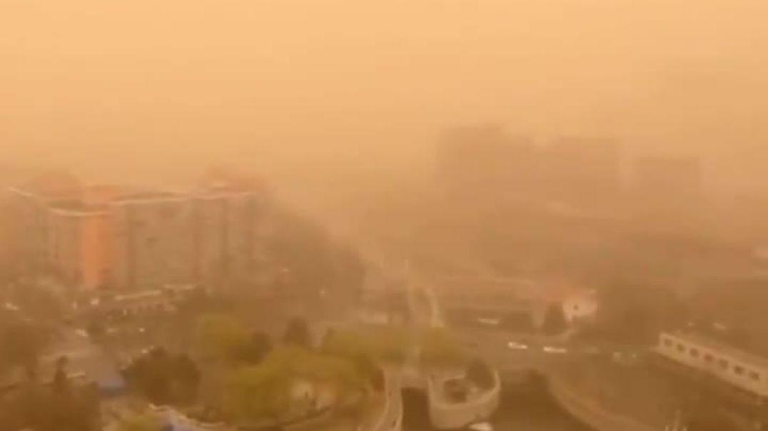 ՏԵՍԱՆՅՈՒԹ. Ավազե փոթորիկ` Չինաստանի մայրաքաղաքում