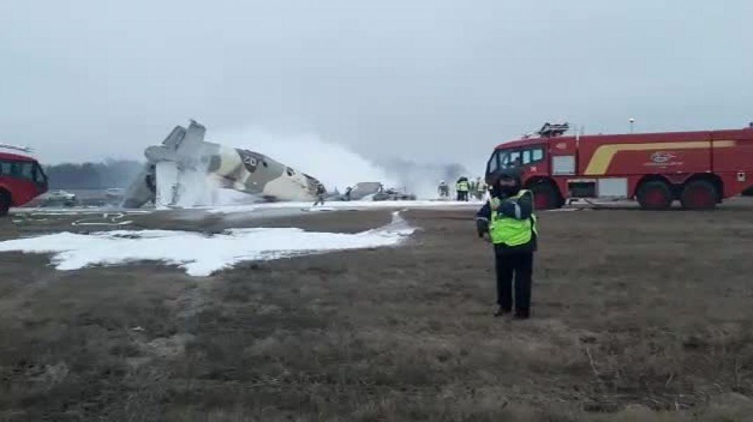 Ալմաթիի օդանավակայանում վթարի է ենթարկվել Ան -26 ինքնաթիռը