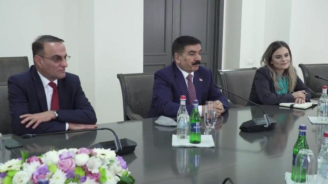 ՀՀ ԱԳ նախարարը հանդիպեց Իրաքի պաշտպանության նախարարին