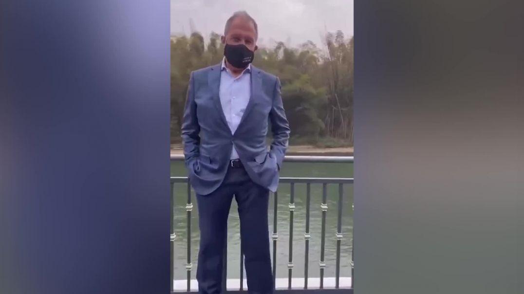 ՏԵՍԱՆՅՈՒԹ. Լավրովը Չինաստան կատարած այցի ժամանակ «fckng qrntn» գրությամբ դիմակ է կրել