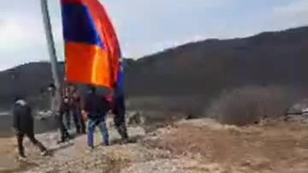 Շուռնուխում կանգնեցվեց 30 մ բարձրությամբ հայկական եռագույնը
