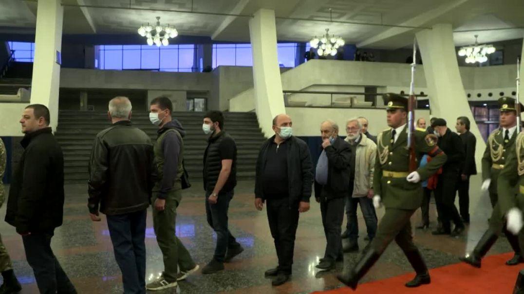 Նախագահ Արմեն Սարգսյանը ներկա է գտնվել Արկադի Տեր-Թադևոսյանի հոգեհանգստի արարողությանը