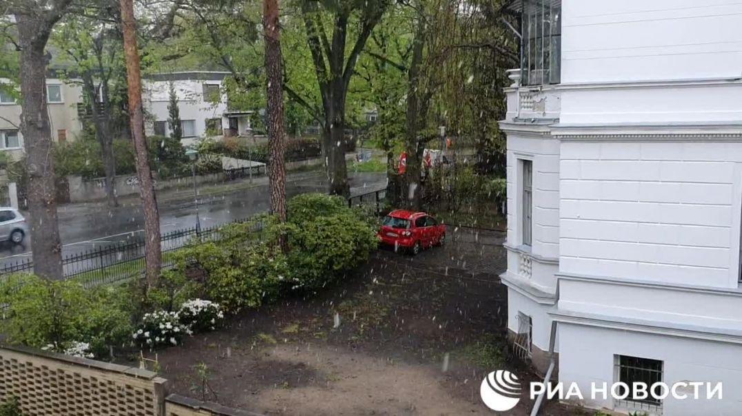 ՏԵՍԱՆՅՈՒԹ. Մայիսյան ձյուն. Բեռլինում ձյուն է տեղում