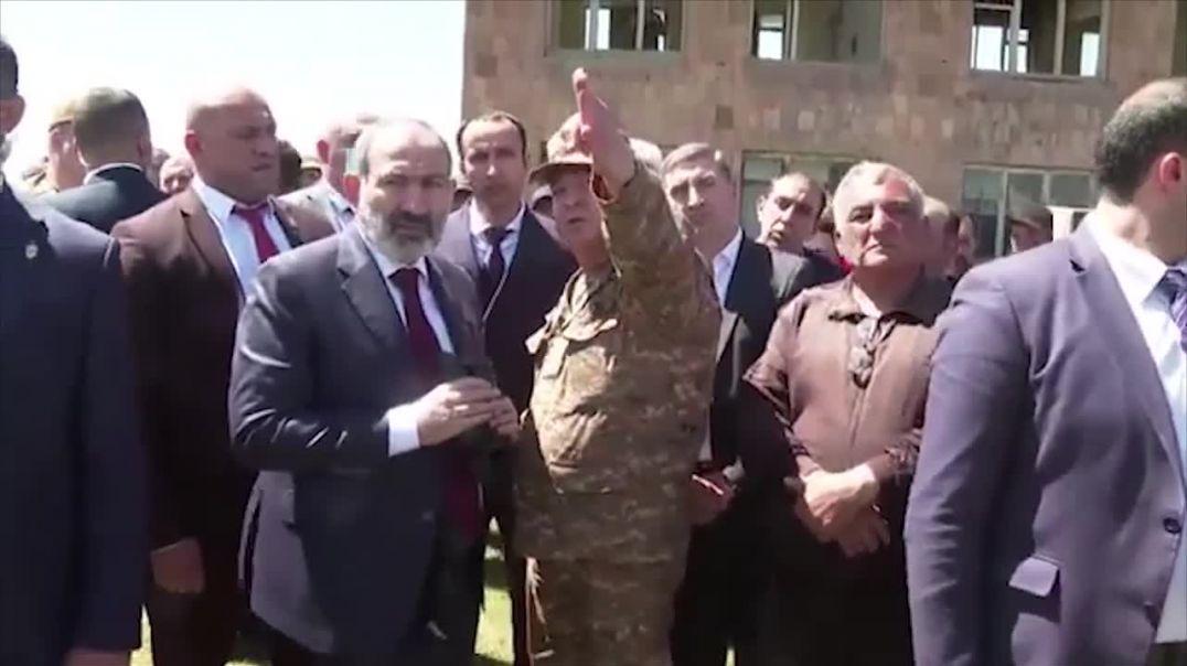Տեսախցիկը ֆիքսել է, թե ինչպես է վարչապետը արգելում ադրբեջանցիներին գերի վերցնել