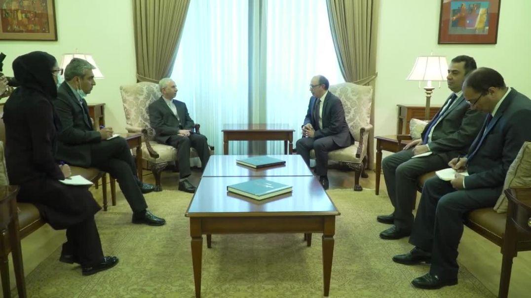 ԱԳ նախարարի պաշտոնակատար Արա Այվազյանի հանդիպումը ՀՀ-ում Իրանի  դեսպան Աբբաս Բադախշան Զոհուրիի հետ