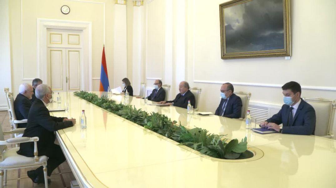 նախագահ Արմեն Սարգսյանը հյուրընկալել է ԻԻՀ  ԱԳ նախարարին