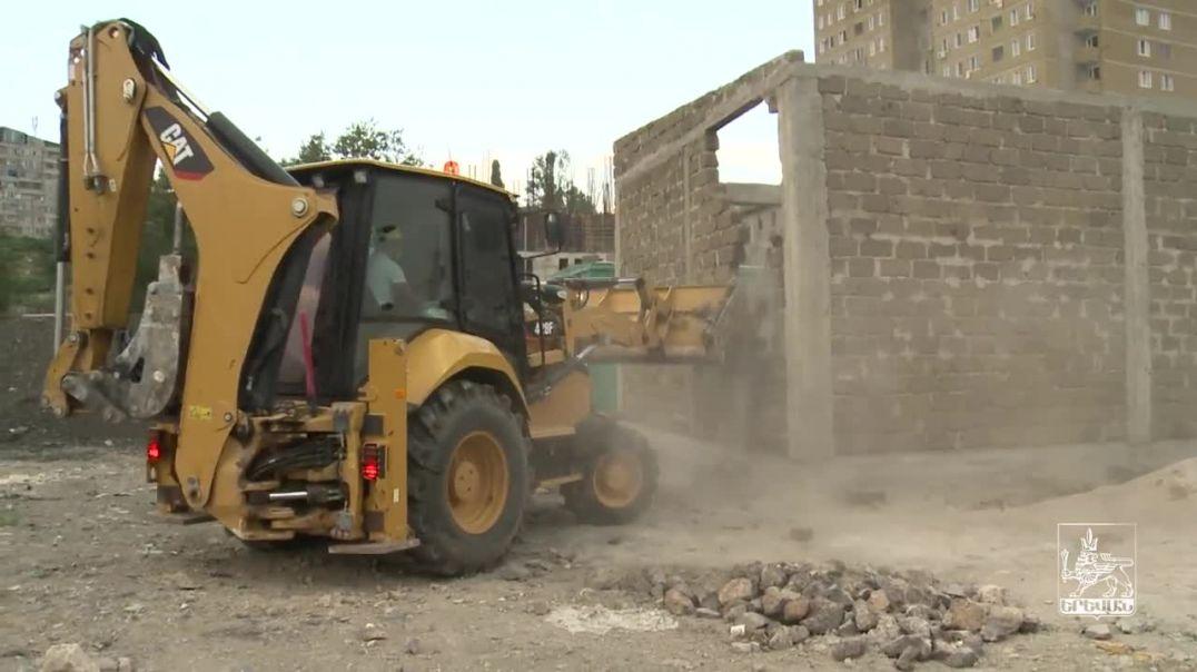 Հունիսի 29-ին ապօրինի կառույցներ են ապամոնտաժվել Նոր Նորք վարչական շրջանում