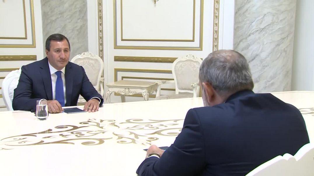 Նիկոլ Փաշինյանը հանդիպել է Տիգրան Արզաքանցյանին (1)
