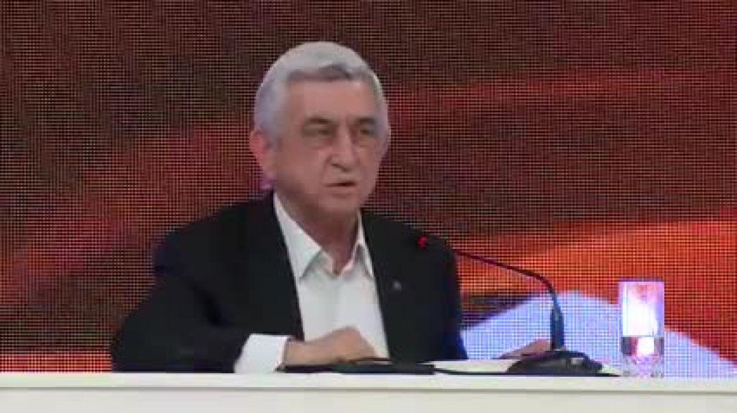 Սերժ Սարգսյանը՝ Փաշինյանին/տեսանյութ/