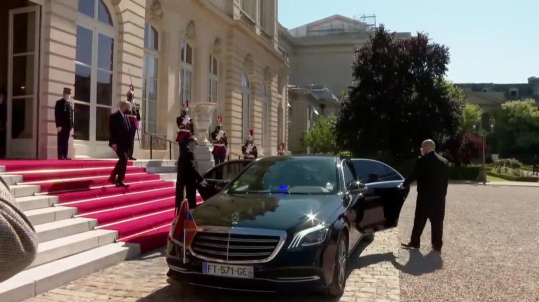 Հանդիպում Ֆրանսիայի Ազգային ժողովի նախագահ Ռիշար Ֆերանի հետ․ Փաշինյան