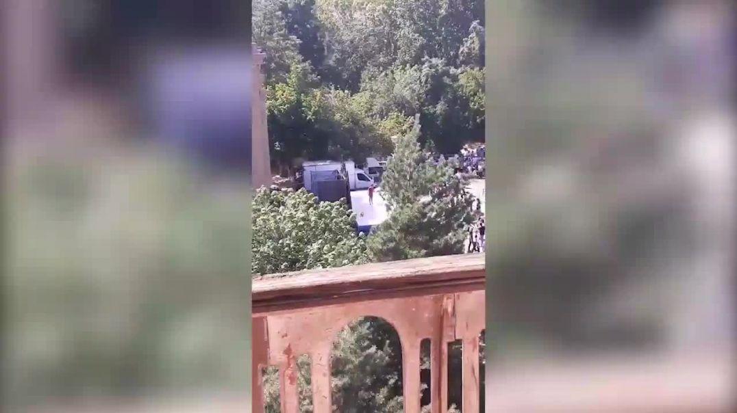 «Հայաստան» դաշինքի շտաբում կարմիր բերետավորների մասնակցությամբ միջադեպից կադրեր են հրապարակվել