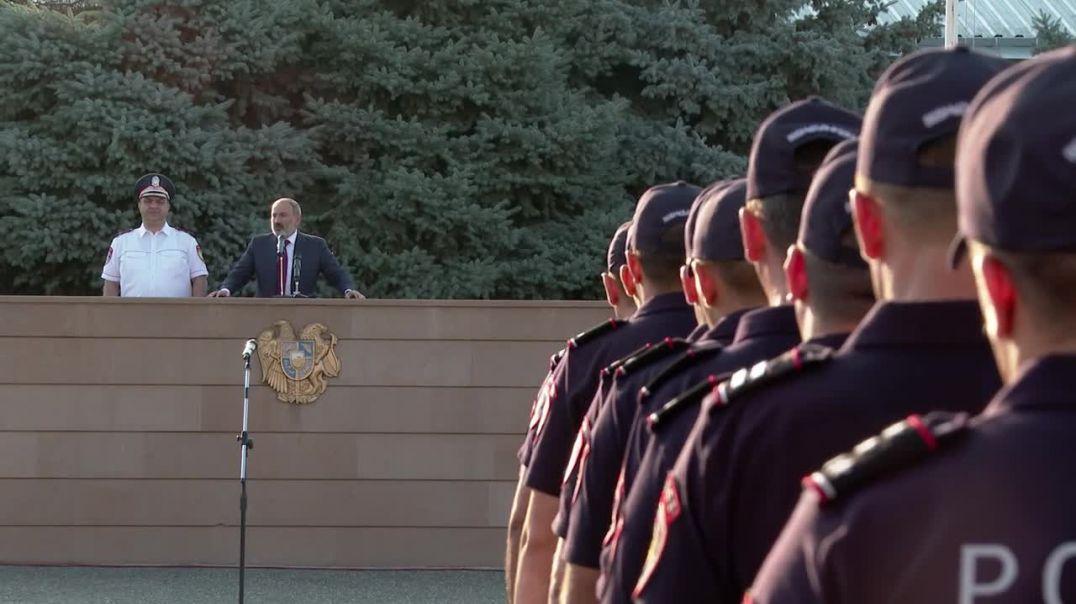 Նիկոլ Փաշինյանն այցելել է Ոստիկանության պարեկապահակակետային ծառայության գունդ