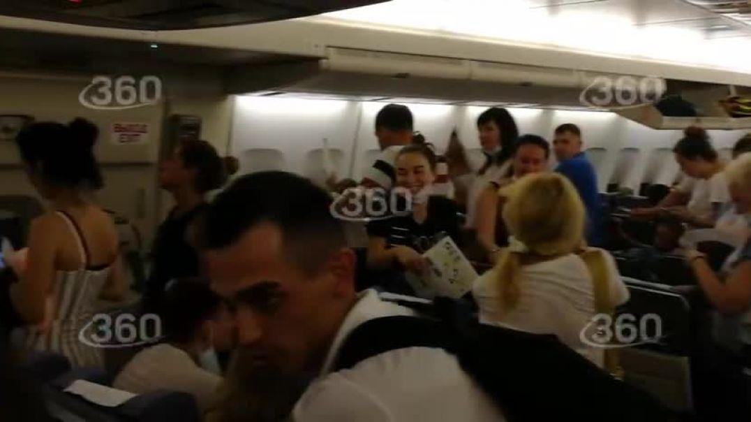 Ուղևորը բացել է Մոսկվա-Անթալիա ինքնաթիռի դուռը