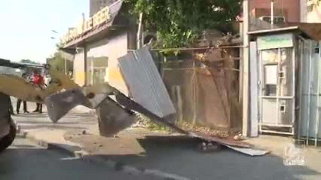 Հուլիսի 19-ին ինքնակամ կառույցների ապամոնտաժումը շարունակվել է Մալաթիա-Սեբաստիա վարչական շրջանում
