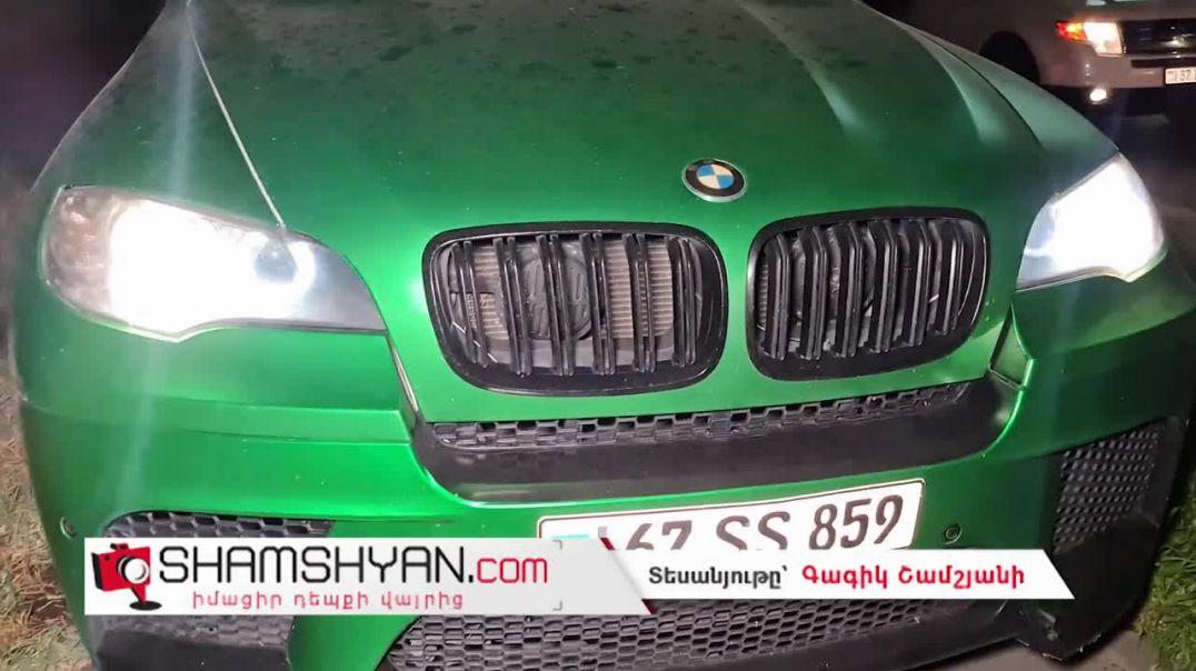 Երևանում 29-ամյա վարորդը BMW X6-ով Իսակովի պողոտայում «զվռնում էր» մայթերով
