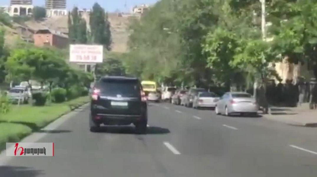Արցախի նախագահը գալիս էր Երևան