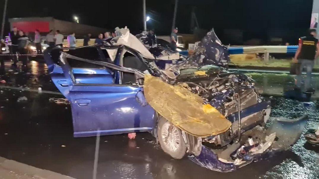 Երեք մարդ զոհվել է Արմավիր-Երևան ավտոճանապարհին տեղի ունեցած ավտովթարի հետևանքով