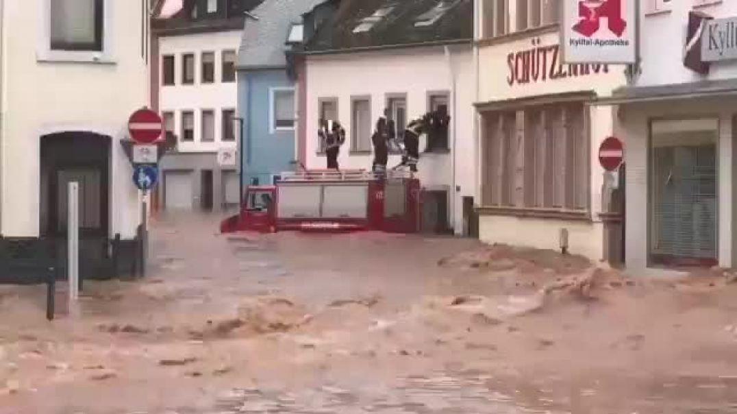 ՏԵՍԱՆՅՈՒԹ. Գերմանիայում ջրհեղեղի հետևանքով մահացել է ավելի քան 90 մարդ
