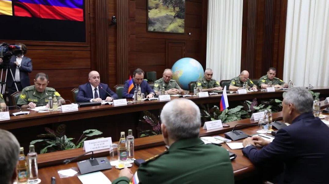 Արշակ Կարապետյանի հանդիպումը՝ Սերգեյ Շոյգուի հետ