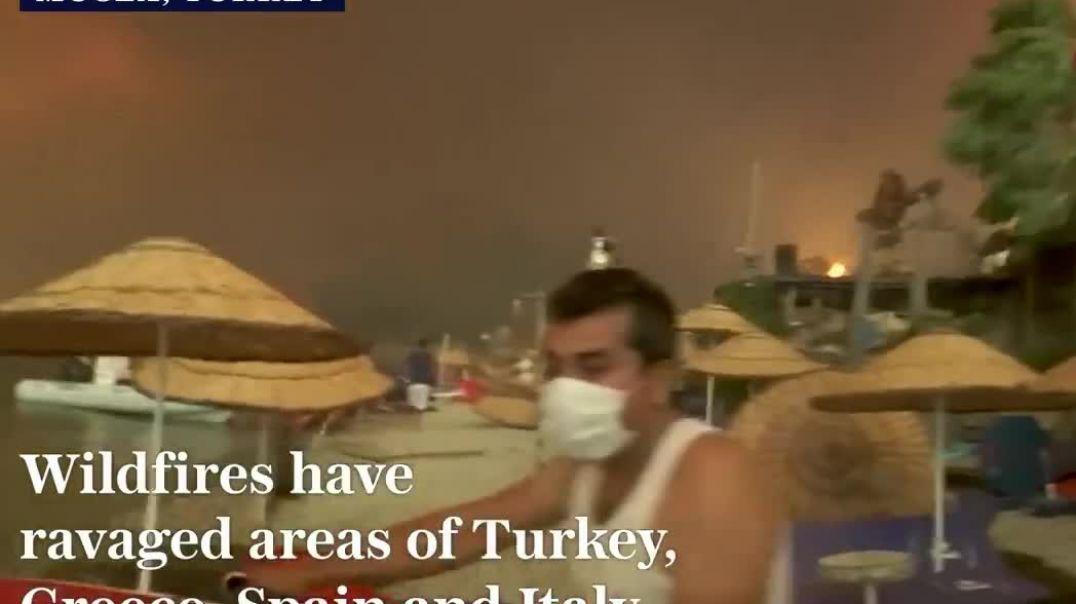 Հրդեհ Թուրքիայում