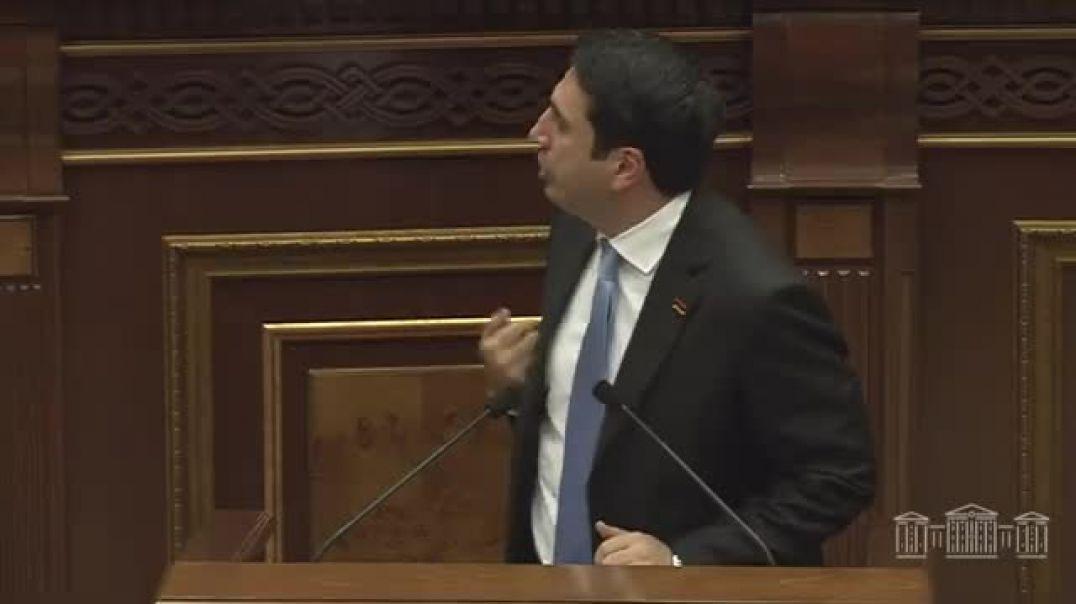 Ալեն Սիմոնյանի ելույթը՝ ԱԺ-ում