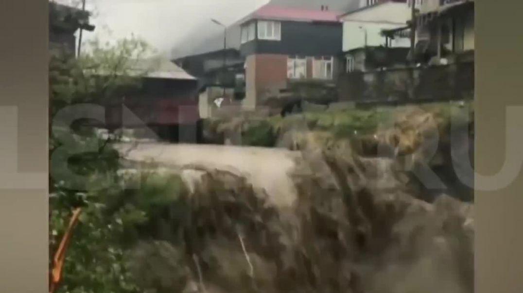 Դաղստանում անձրևների հետևանքով ավերվել է մայրուղին