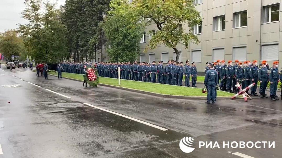 Մոսկվան հրաժեշտ տվեց ողբերգական մահով մահացած նախարար Զինչևին
