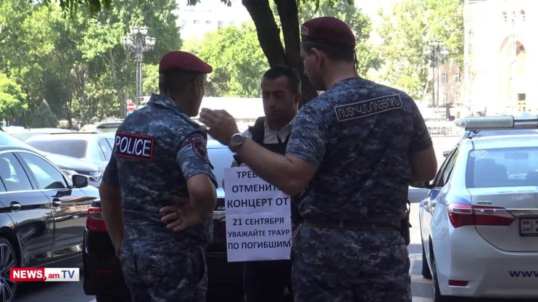 Կարմիրբերետավորները բերման են ենթարկում զոհված զինծառայողի հարազատին