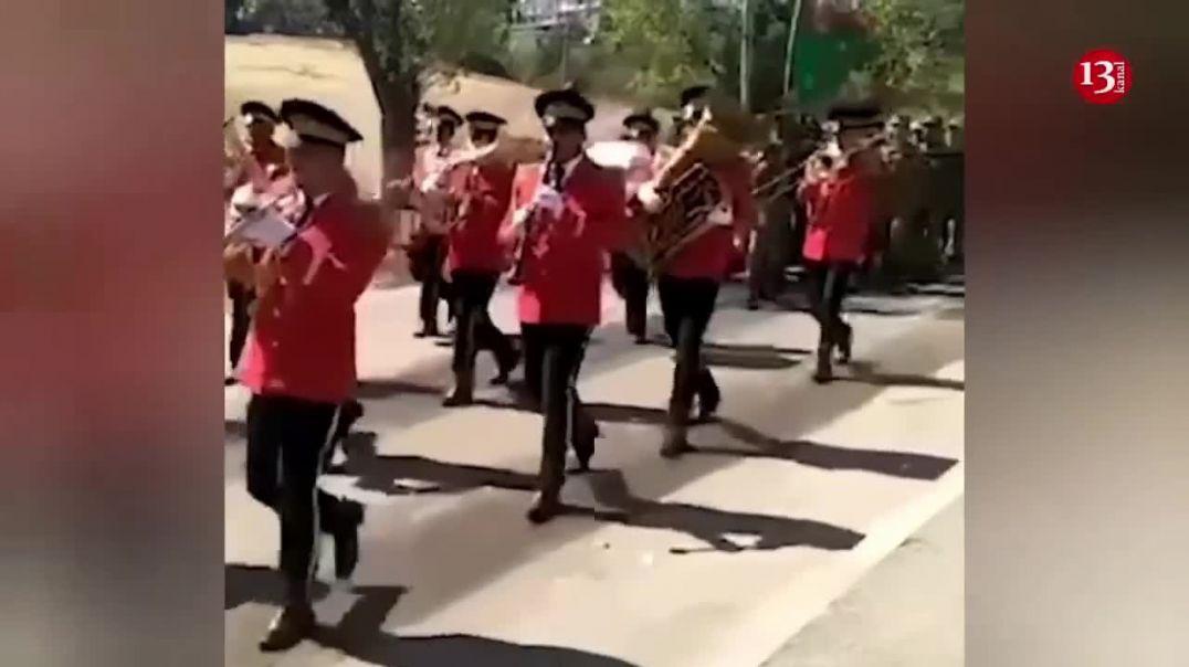 Şuşada möhtəşəm hərbi yürüş keçirildi (online-video-cutter